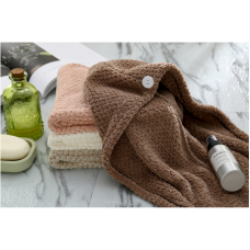 dry hair cap triangle dry hair towel coral fleece shower cap super absorbent quick-drying bag scarf